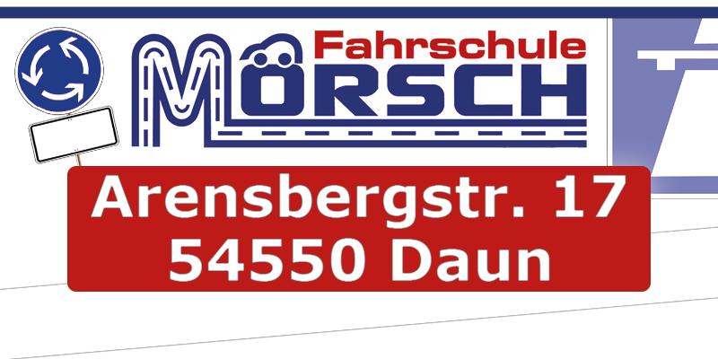Fahrschule Mörsch, Arensbergstr. 17, 54550 Daun
